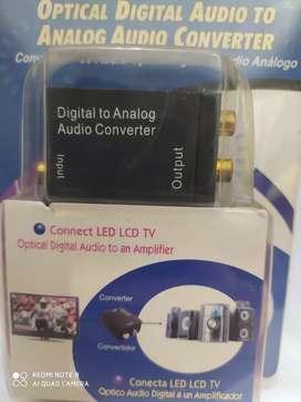 Convertidor de audio digital a análogo