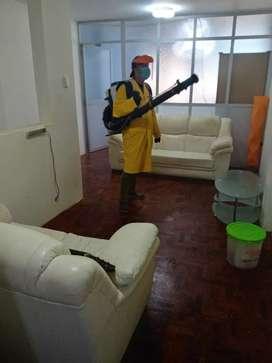 Servicios de desinfeccion