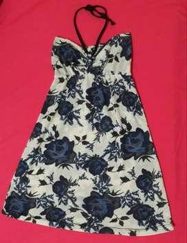 Vestido floreado Talle 1 o 2