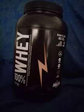 Proteína Whey contiene bcaa y glutamina
