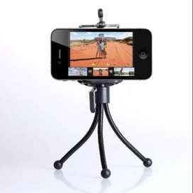 Tripode Flexible Soporte Celular Selfies Gancho La Plata