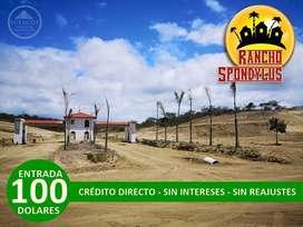 Venta de Terreno en Pile-Montecristi, Proyecto Campestre cerca de Manta