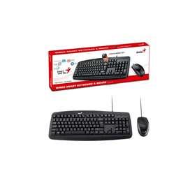 Combo teclado y mouse genius km-160