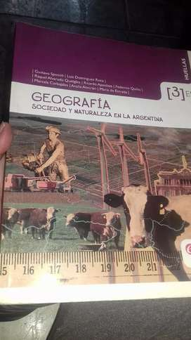 Vendo libro de geografia