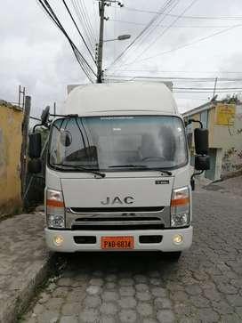 De venta camión JAC 2019 aire acondicionado excelente estado