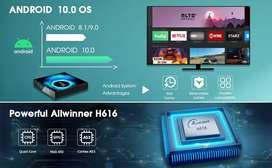 SMART TV ANDROID 9.0 PEND00 X10 PLUS 8K - 4 NUCLEOS - 4GB RAM - 32GB MEMORIA - SLOT MICRO SD - DISPLAY - COMANDO DE VOZ