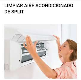 Limpieza de aire acondicionado unidad interior