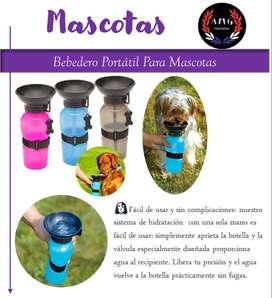 Bebedero de Agua Portátil para Mascotas