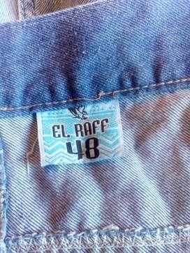 Bermudas jeans mujer talla 48