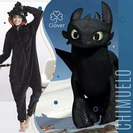 Pijama de Chimuelo kigurumi Original
