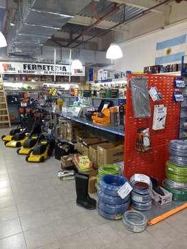 Vendo ferretería ubicada en zona sur de Rosario, acepto ofertas.