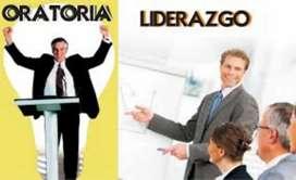 TENGA EL MEJOR LIDERAZGO Y HABLE CON CAPACIDAD INTELECTUAL ESTUDIE 2 CURSOS ORATORIA Y LIDERAZGO CON 1 SOLO VALOR