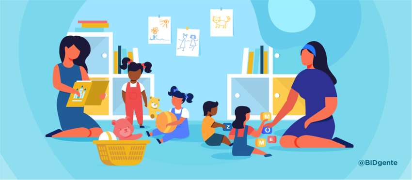 Educadora en Centros Infantiles o niñera
