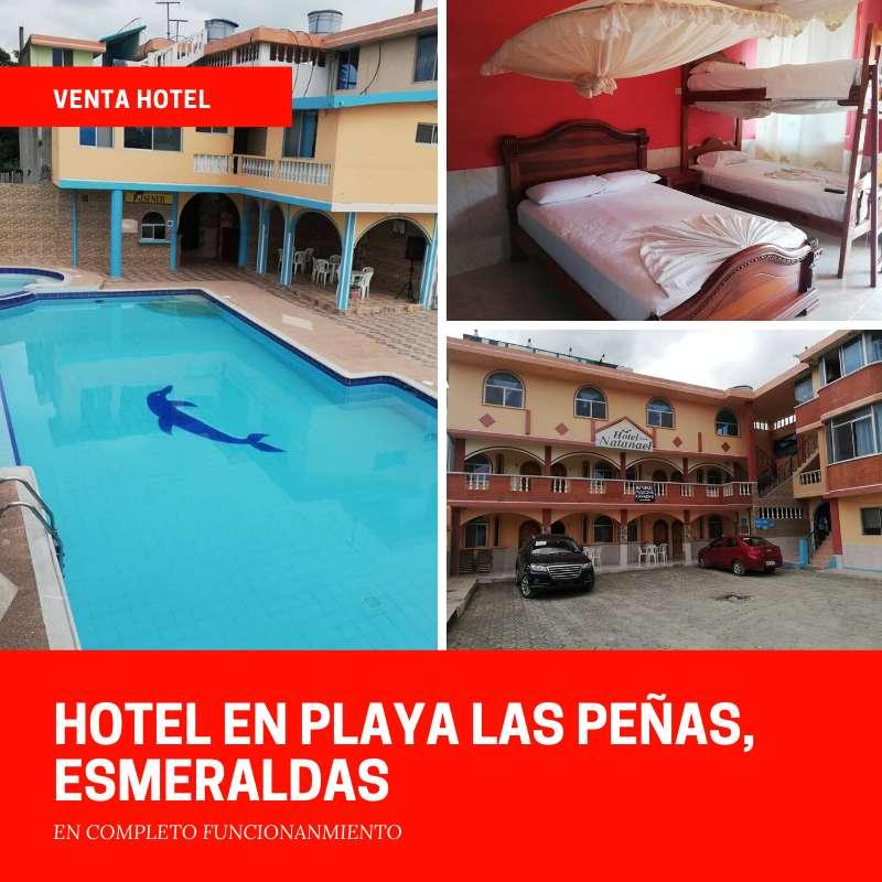 venta de hotel en la playa de las Peñas, Esmeraldas, Ecuador 0