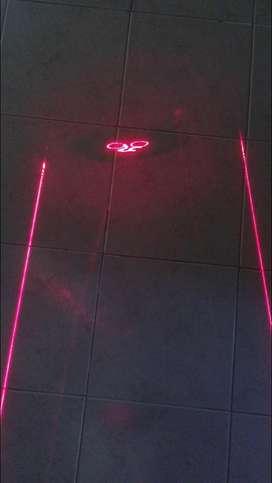 Bicicleta luz laser