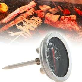 termómetro alimentos carne calibre 350 grados centígrados para  horno