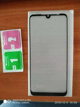 Vendo Vidrio Templado Xiaomi Redmi Note 7 + Templado Cám Trasera