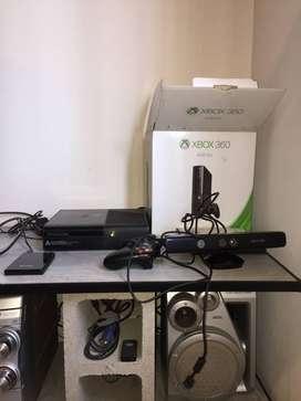 Xbox360 Go 4gb chipeada con kinect
