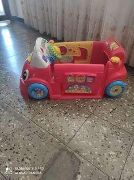 Vendo carro Fisher price