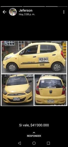 Venta de taxi con cupo