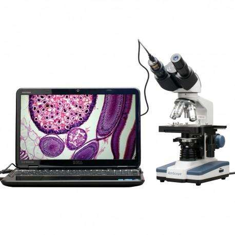 Microscopio Digital 40x2500x 3d, Usb Camara 5mp Profesional 0