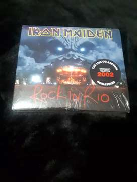 Iron Maiden Rock in río CD doble