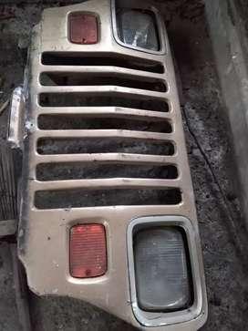 Persiana Jeep wrangler con farolas o para adaptar a jeep cj