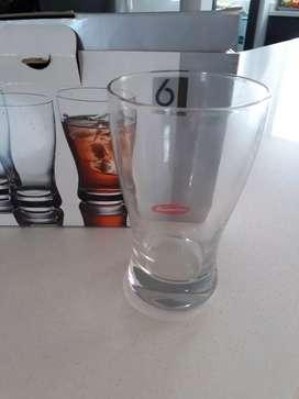 6 vasos largos.