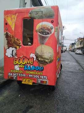 GANGA HERMOSO TRAILER FOOD DE COMIDAS RAPIDAS