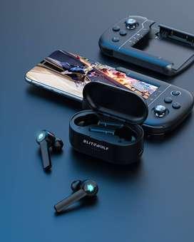 Audífonos GAMER Inalambricos Bluetooth TWS Led 1000 Mah Blitzwolf