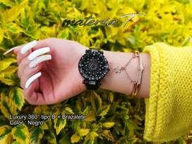 Relojes Dama Luxury 360 grados