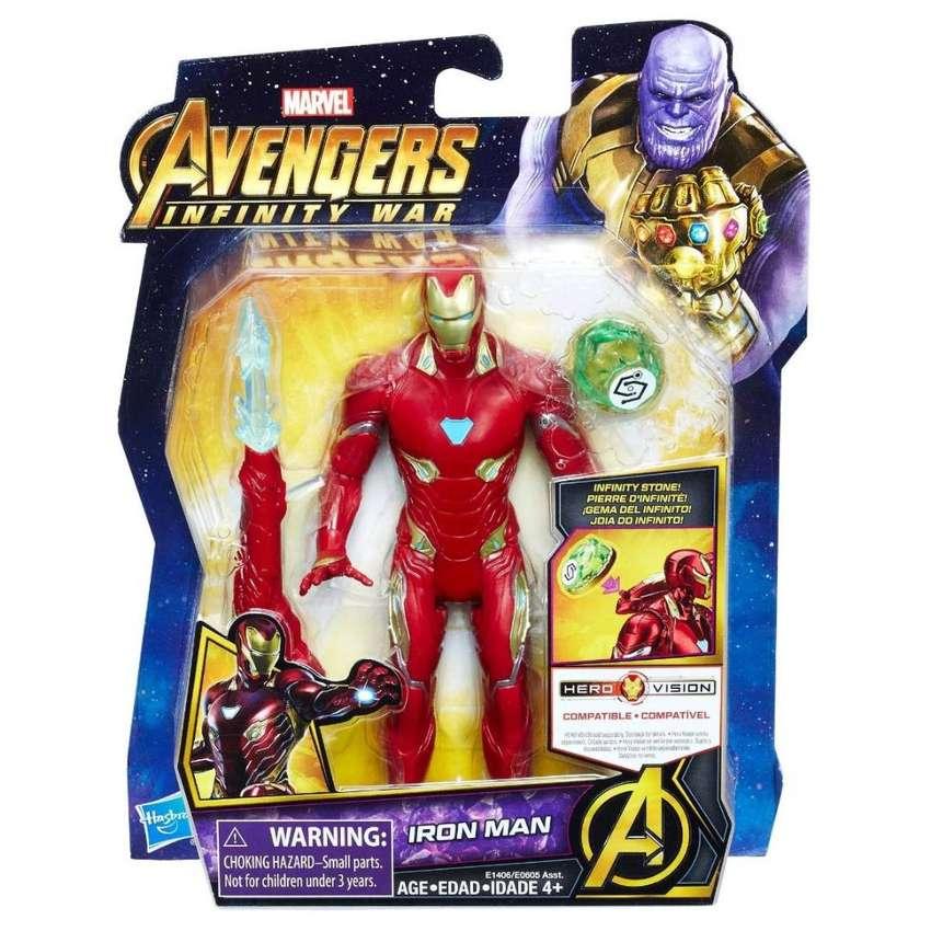Muñeco Avengers Infinity War iron Man