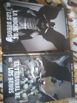 Batman el tribunal de los buhos y la nioche de los buhos DC