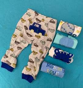 Set de Pantalones Carters original Niño x 5 24 meses