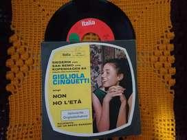 Gigliola Cinquetti  lp/Disco  HECHO EN ALEMANIA