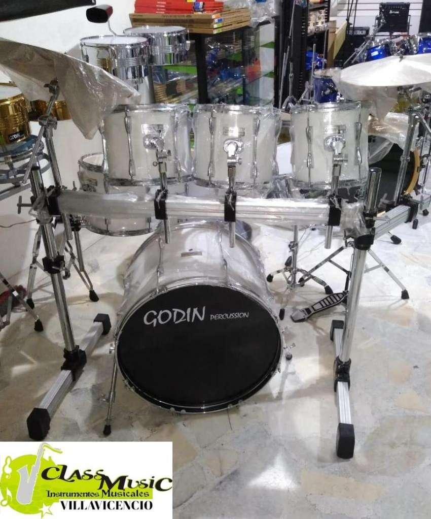 Batería 7 Piezas Godin Percussion Nueva 0
