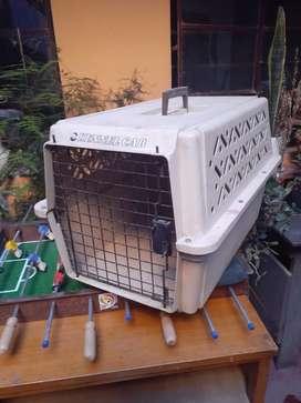 Kennel para Transportar Mascotas Mediana