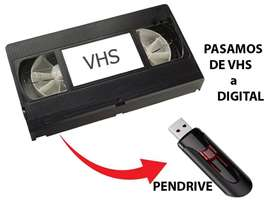 CONVERTI TUS VHS A DIGITAL