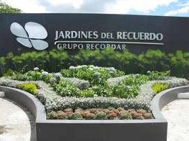 VENTA LOTE DOBLE CEMENTERIO JARDINES DEL RECUERDO