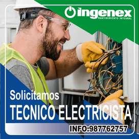 Técnico Electricista para PROVINCIAS