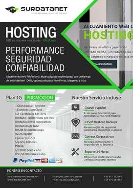 Hosting Dominios Correos Corporativos Diseño Web