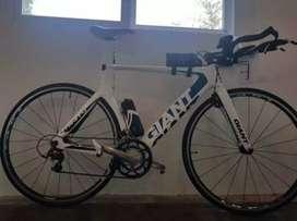 Bicicleta Giant Trinity full carbono talle M 54
