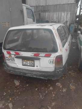 Se remata station wagon para reparar o por partes