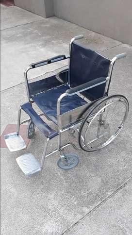 Vendo silla de ruedas reforzada
