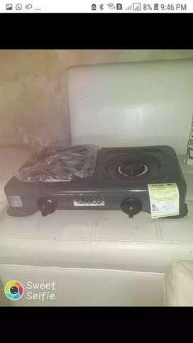 Vendo estufa y cilindro vacío