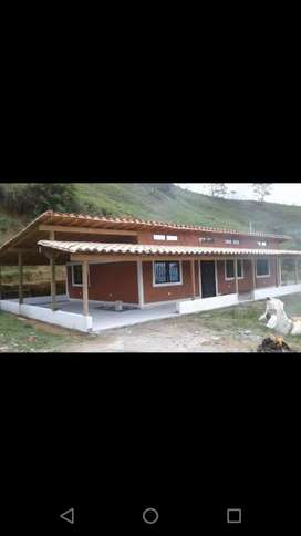 Casa campestre bien terminada en la vereda la cuesta en Barbosa