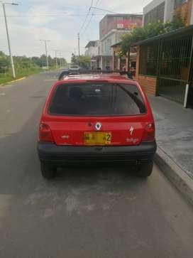 Renault Twingo 2013 color rojo NEGOCIABLE