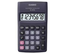 Hl-815 - Calculadora Casio 8 Digitos