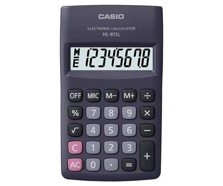 Hl-815 - Calculadora Casio 8 Digitos 0