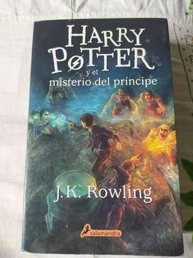 Libro de Harry Potter